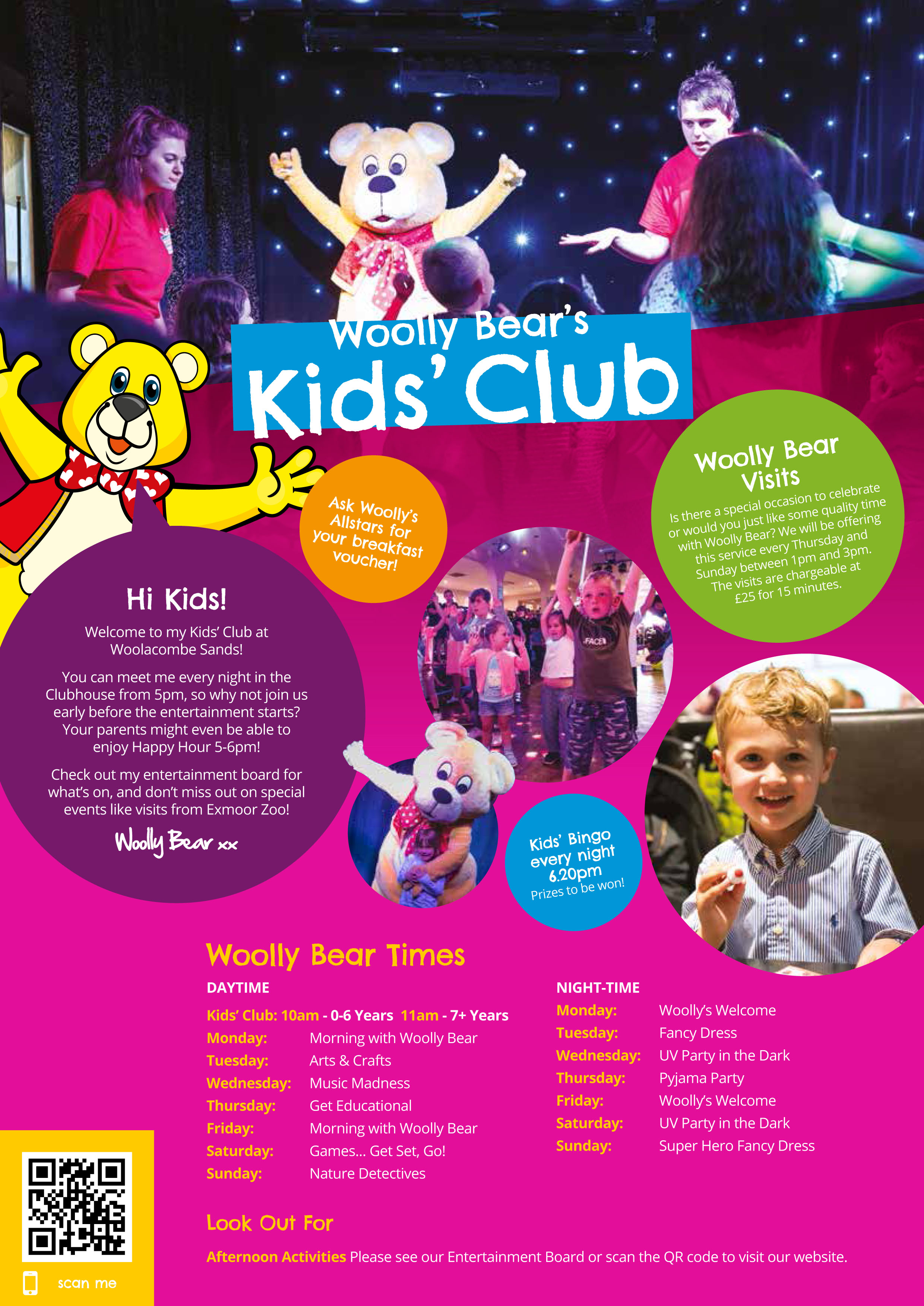 Woollys Kids Club