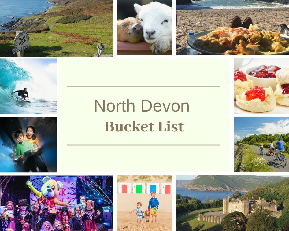 North Devon & Woolacombe Bucket List