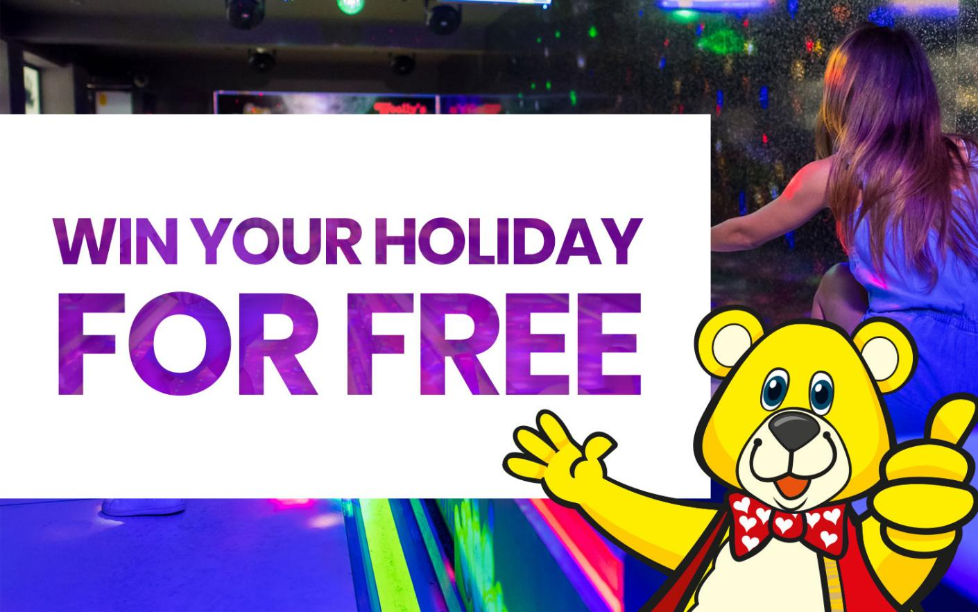 Win your 2020 Holiday for FREE!