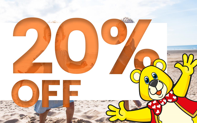 20% off special offer at Woolacombe Sands Holiday Park Devon