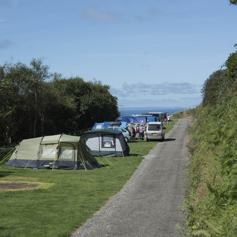 Electrical Camping Pitch Woolacombe Sands Holiday Park