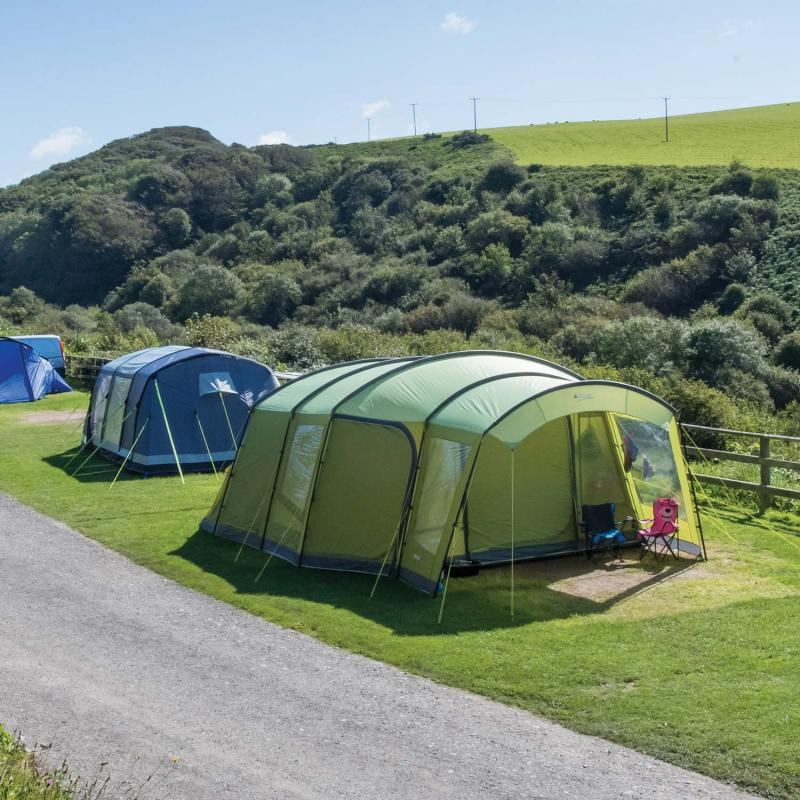 Basic Camping Pitches at Woolacombe Sands Holiday Park