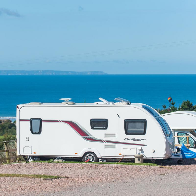 Touring Caravans at Woolacombe Sands Holiday Park