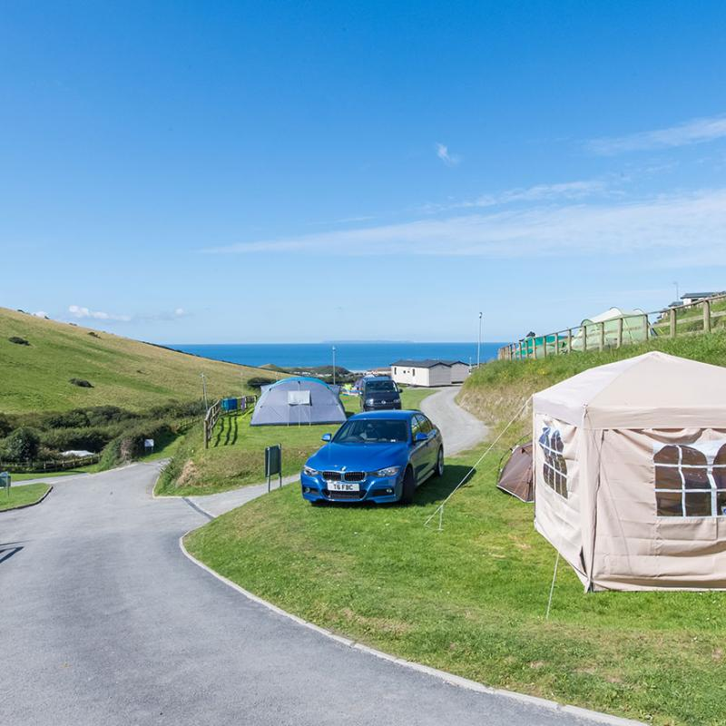 Camping and touring at Woolacombe Sands Holiday Park
