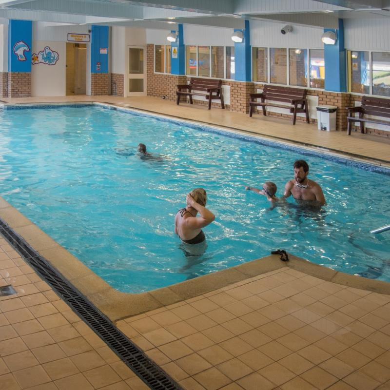 Indoor Swimming Pool Woolacombe Sands Holiday Park