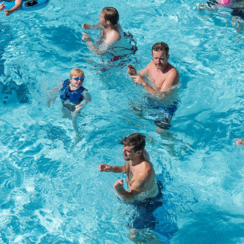 Swimming Pool activities Woolacombe Sands Holiday Park