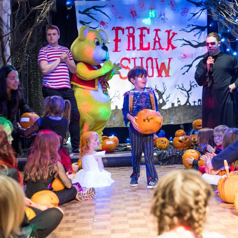 October Half Term Halloween Hoildays at Woolacombe Sands Holiday Park North Devon