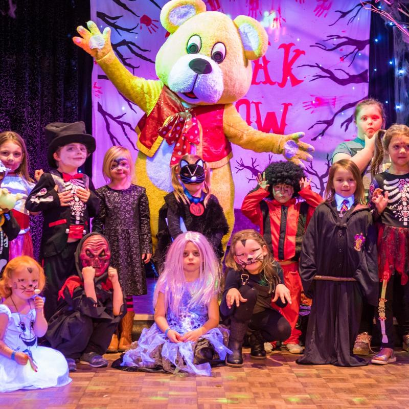 October Half Term Halloween Party at Woolacombe Sands Holiday Park North Devon