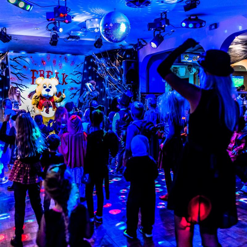Halloween Half Term Disco at Woolacombe Sands Holiday Park North Devon