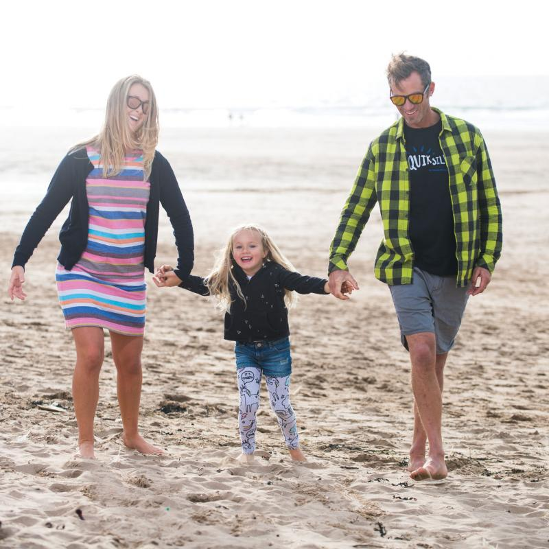 Family Safe beach Woolacombe Sands Holiday Park