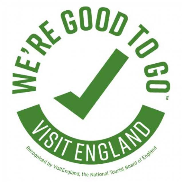 We're Good To Go Visit England Approved Logo