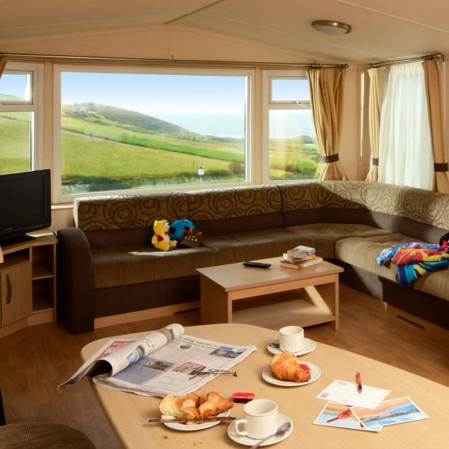 Atlantic Gold Caravan Lounge Woolacombe Sands Holiday Park