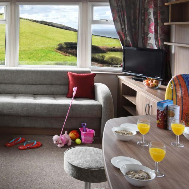 Ocean View Gold 2 Bedroom Caravans at Woolacombe Sands Holiday Park