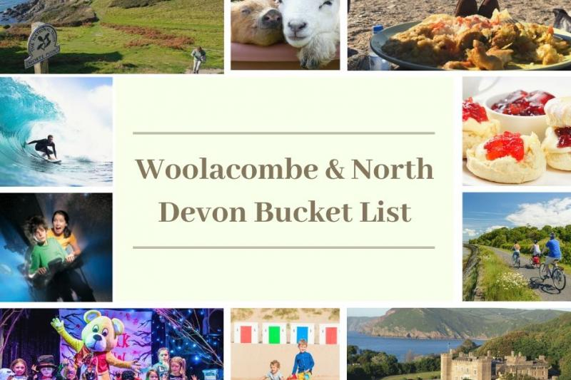 Woolacombe & North Devon Bucket List