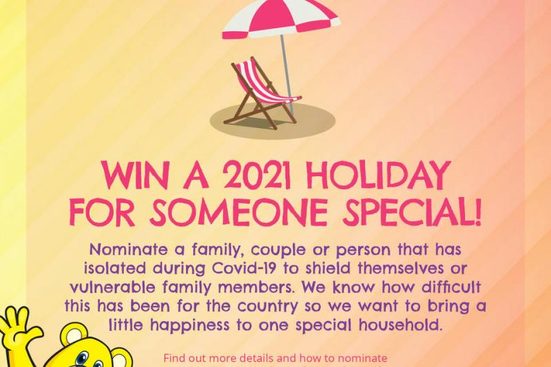 Nominate a individual, family or couple to win a holiday for 2021