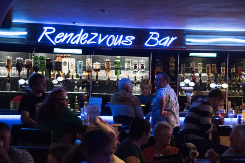 Renezvous Bar Woolacombe Sands Holiday Park