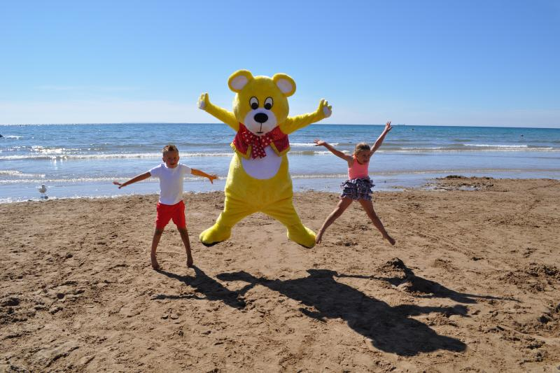Kids Club entertainment at Woolacombe Sands Holiday Park Devon