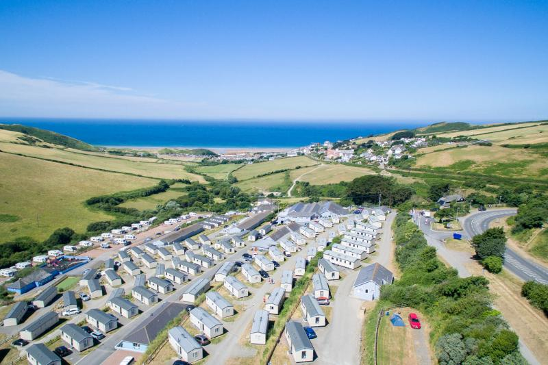 Views from Woolacombe Sands Holiday Park