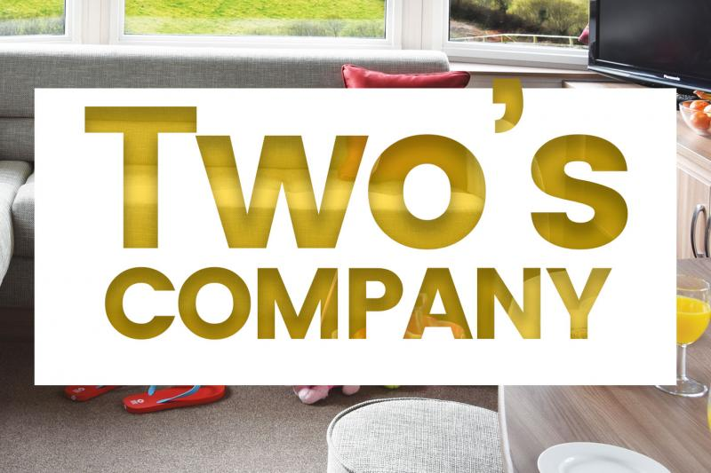 Two's Company 25% off a Woolacombe Holiday