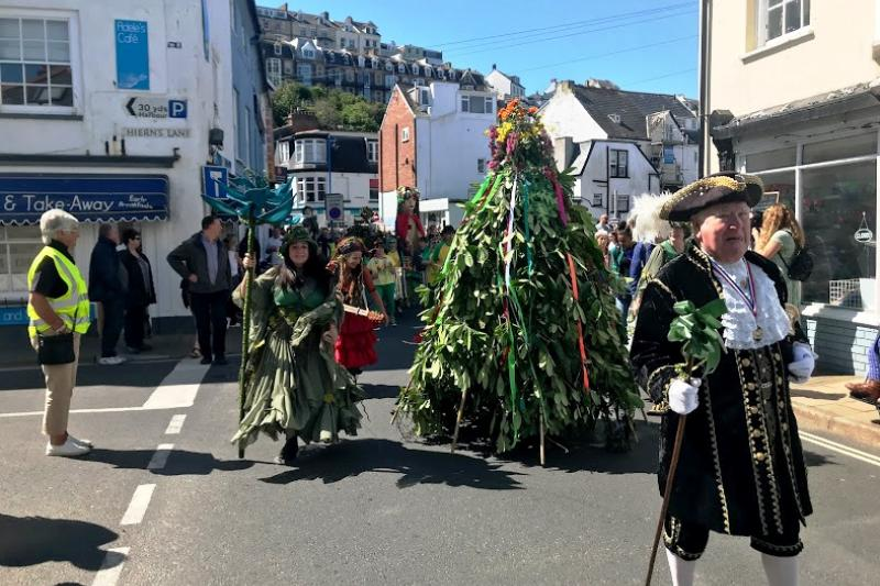May Day in Ilfracombe