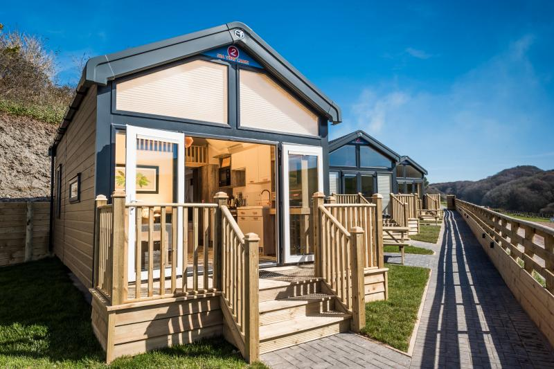 Sea View Cabin at Woolacombe Sands Holiday Park